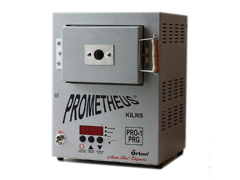 Kitiki Prometheus Mini-Kiln Pro-1 Prg For Beads, Dichroics, Enamelling, Fusing, And Metal Clays.